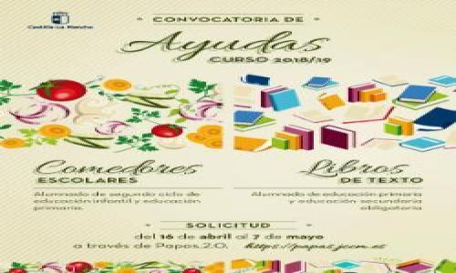SOLICITUD AYUDAS COMEDOR Y LIBROS CURSO 2018-19 | CEIP Ilarcuris ...